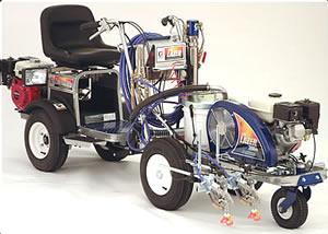 LINE DRIVER - тягач для ручной разметочной машины